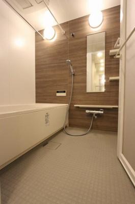きれいなお風呂です:即入居可♪平日も内覧出来ます♪八潮新築ナビで検索♪