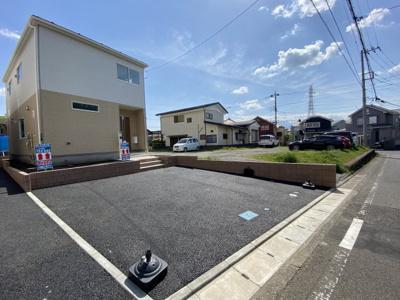 【駐車場】新築 相模線 相武台下駅 性能評価 駐車2台