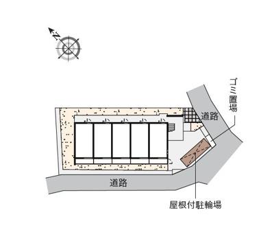 【区画図】プラムガーデンOGM