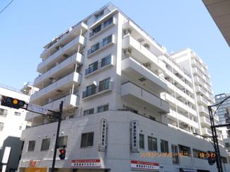 SRC造のしっかりした重厚感ある建物です。