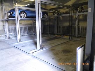 便利な駐車場も完備。