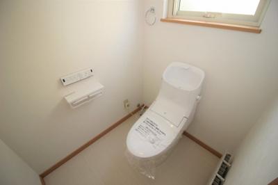 2階トイレです!