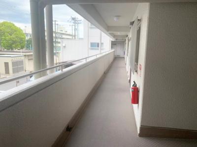 マンション廊下部分です。