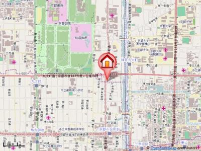 【地図】ベラジオ御所東