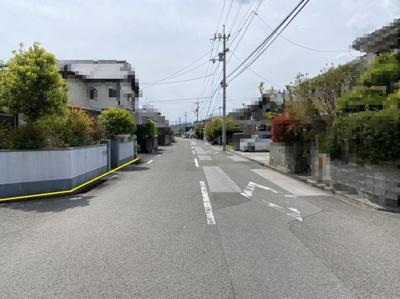 【前面道路含む現地写真】高知市介良