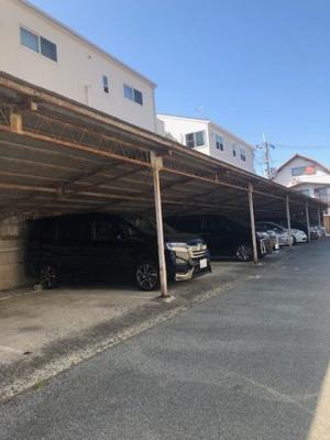 【外観】屋根付き野入ガレージ(猪名津彦神社東側)