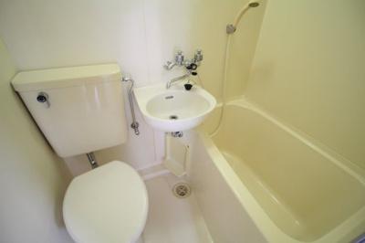 【浴室】白百合ハイツ