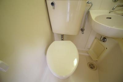 【トイレ】白百合ハイツ