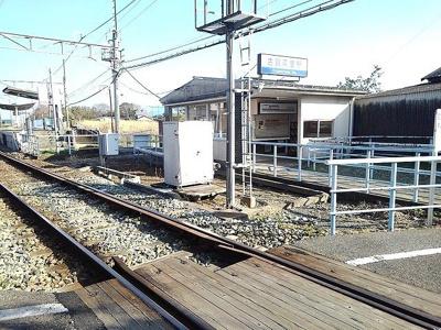 西日本鉄道甘木線 古賀茶屋駅まで1180m