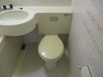 【トイレ】ランスロットハイツ
