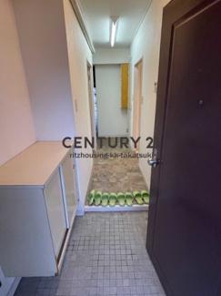 住宅部分の玄関