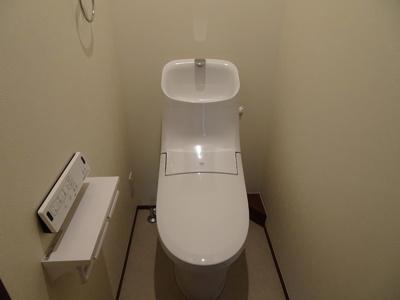 新規トイレ、ウォシュレットです。