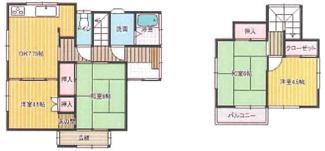 千葉市中央区仁戸名町 中古一戸建て 大森台駅 4DK全室収納付き!