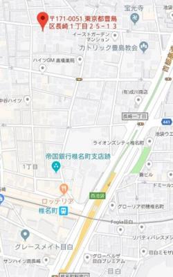【地図】メイスプリング長崎