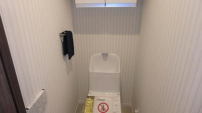 ウォシュレット機能付きのトイレです。