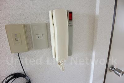 受話器型インターホン