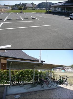 【駐車場】コートHiguchi B棟