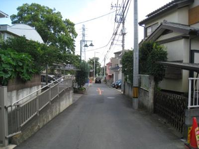 【前面道路含む現地写真】さいたま市小深作5期