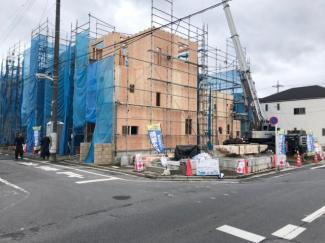 【外観】足立区一ツ家3丁目新築戸建て【全10棟】
