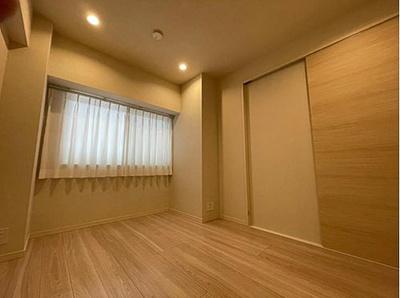 全居室フローリングでお掃除簡単、家具の配置もしやすいですね。