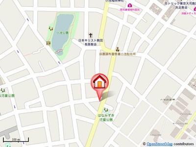 【地図】ローレルハイム