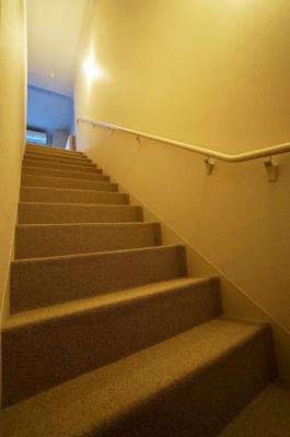 室内の階段です