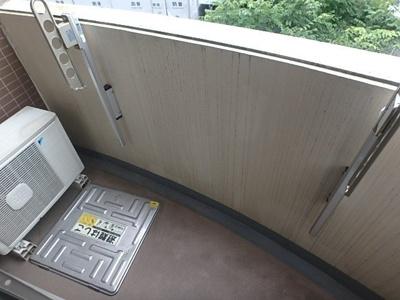 【バルコニー】ラグジュアリーアパートメント目黒東山