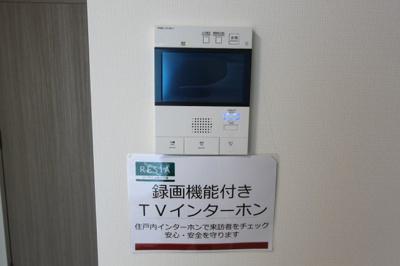 録画機能付TVモニターフォン