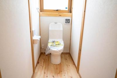 【トイレ】【新築】宮崎市京塚新築住宅