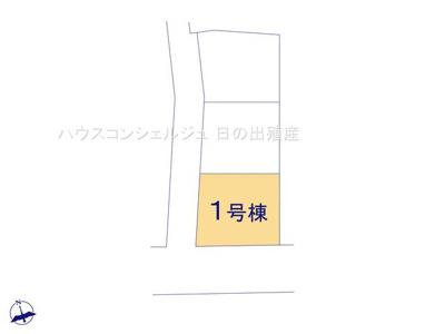 【区画図】東海市荒尾町西ノ木戸【仲介手数料無料】新築一戸建て