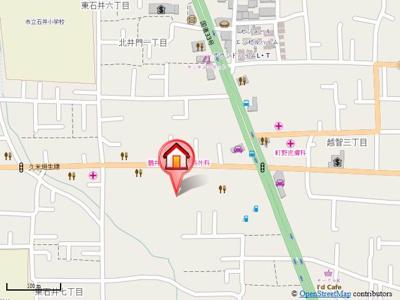 【地図】レジデンスM-1・