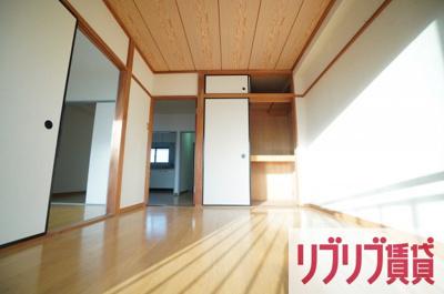 【寝室】鵜の森ビル