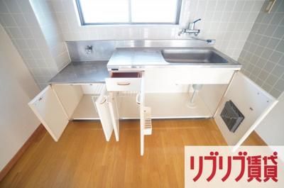 【キッチン】鵜の森ビル