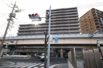 【外観】リーベパトリー竹ノ塚