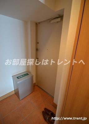 【玄関】サンハーネス四谷