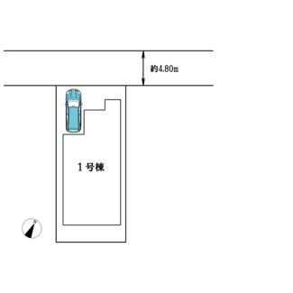 【区画図】高槻市塚原5丁目