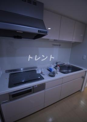 【キッチン】リバーシティ21イーストタワーズ10棟
