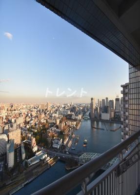 【展望】リバーシティ21イーストタワーズ10棟