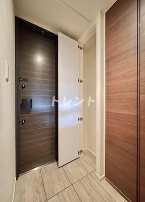 【玄関】パークハビオ笹塚