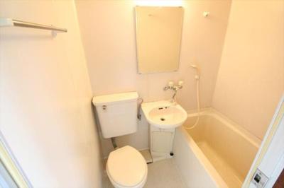 【浴室】ひまわりコーポ