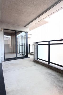 【バルコニー】ガーデンハイツ桃山台弐番館