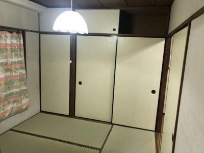 北側和室です。