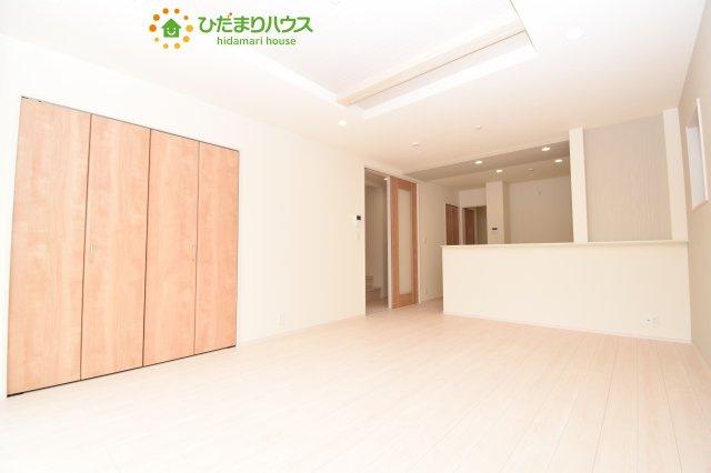 【居間・リビング】見沼区蓮沼 3期 新築一戸建て 01