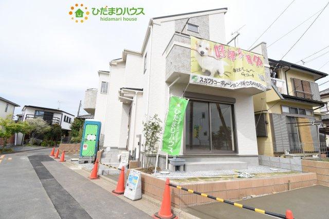 【外観】見沼区蓮沼 3期 新築一戸建て 01
