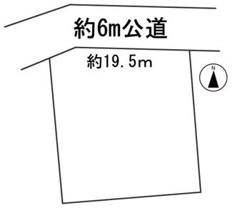 【区画図】56588 岐阜市日野南土地