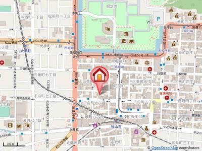【地図】サーパス市駅前