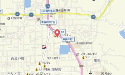 【地図】cotone JYOHOKU
