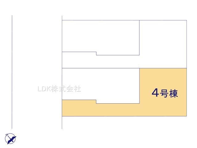 【区画図】新築戸建/富士見市西みずほ台1丁目(全4棟)