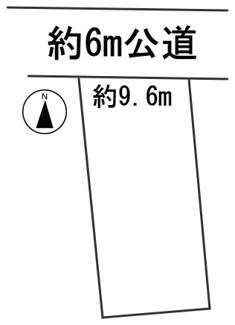 【区画図】56594 岐阜市日野南土地