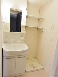 洗髪洗面化粧台&室内洗濯機置き場